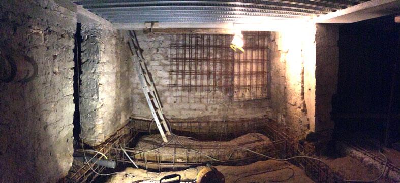 rénovation sous-sol