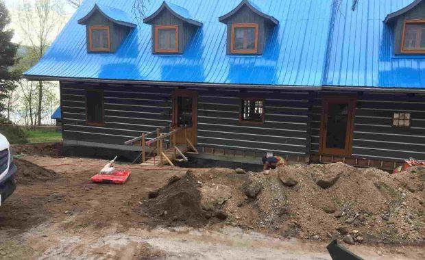 Réparation de fondation au Lac-Sainte-Marie